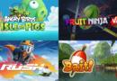 Случайные названия Angry Birds VR, Fruit Ninja VR, RUSH, и Bait! Приближаются к Oculus Quest